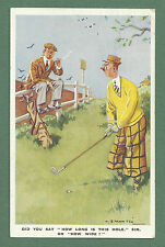"1950 GOLF THEME PC ""DID YOU SAY HOW LONG IS THIS HOLE OR HOW WIDE?"" L. B. MARTIN"