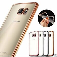Transparent Mobile Phone Bumpers for Samsung Galaxy S7 edge