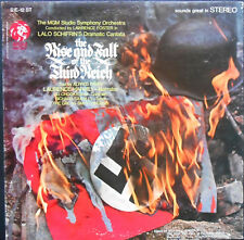 LALO SCHIFRIN BO THE RISE AND FALL OF THE THIRD REICH LP US 1968