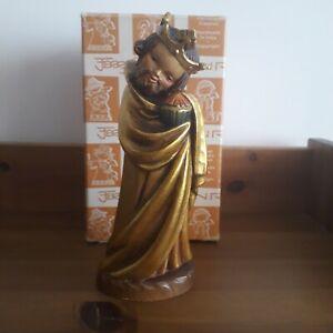 ANRI Ferrandiz scultura presepe vintage Re Magio Gaspare legno grande Nuovo