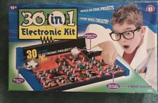 30 IN 1 ELECTRONIC LAB KIT Small World Toys,Fun For Kids Electronic Learning Kit