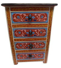 Moroccan Moucharabi  Nightstand End Table Arabic Design Furniture