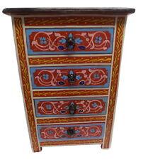 Moroccan Moucharabi Moucharabieh Nightstand End Table Arabic Design Furniture