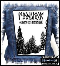 MOONBLOOD -  The Winter Falls Over the...  --- Huge Jacket Back Patch Backpatch