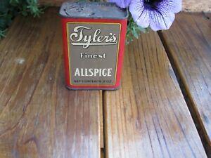 TYLERS Allspice San Francisco Old Spice Tin