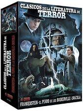 Classic Horror Literature Collection 3 Films - 4-DVD Box Set Alec Newman, Julie