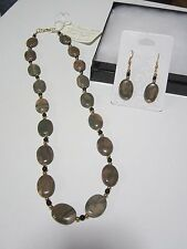 and Earring Set Canyon Marble Necklace