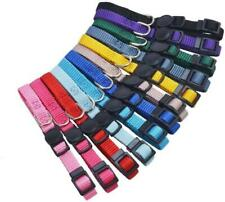 12 pcs/set Soft Nylon Puppy Id Collar Adjustable Breakaway Whelping Litter