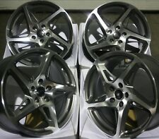 "18"" Grey R4 Alloy Wheels Fits Alfa Romeo 159 Brera Giulietta + Brembo 5x110 Pcd"