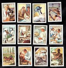 Trades & Professions - The Doctor - Nestle 1952 Poster Stamp Card Set Medicine