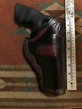 "FITS Ruger Redhawk 44 Magnum 4"" Barrel Leather Thumb Break Field Holster"