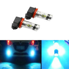 1 x H11 H8 100W LED 8000K ICE BLUE 2323 Projector Fog Driving Light Bulbs