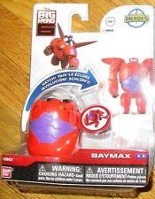 Disney Big Hero 6 HATCH N HEROES EGGS BAYMAX FIGURE RED ARMOR Transforming Toy