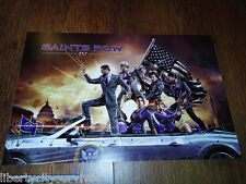 SAINTS ROW IV VIDEO GAME INSTORE DISPLAY PROMO POSTER