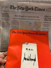 New York Times Newspaper, & Magazine Sunday February 9, 2020