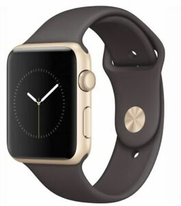 Apple Watch Series 2 42mm With Cocoa Sport Band (Gold)