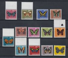 TIMBRE STAMP 13 SURINAM  Y&T#40-52 PAPILLON BUTTERFLY NEUF**/MNH-MINT 1972 ~B62