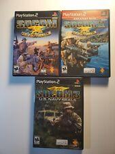 SOCOM COLLECTION: U.S. Navy SEALs 1,2,&3(Sony PlayStation 2)