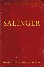 SALINGER-HB w/dj New Biography J. D. David Shields Shane Salerno Eds.