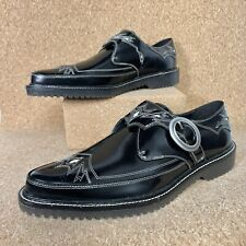 Coach Western Derby Men's In Black Shoes Limited Edition G3420 Size 11 NWOB $395