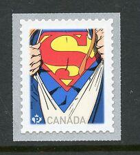 SUPERMAN S/A COIL & SOUVENIR SHEET CANADA 2013 MNH