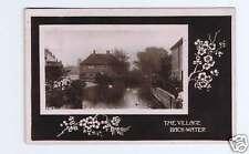 Jamestown, NY Village Back-Water  RPPC Postcard 1911
