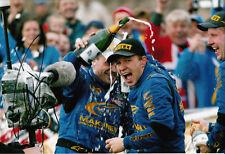 Petter Solberg mano firmado Subaru Impreza 2003 Rally Champion Foto 12x8 2.