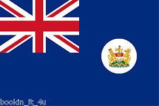 ***HONG KONG COLONIAL VINYL FLAG DECAL / STICKER***