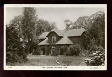 LONDON Kew Gardens Queen's Cottage RP PPC by Gale & Polden