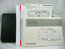 VAUXHALL ZAFIRA A  SERVICE BOOK HANDBOOK & WALLET PACK -  1998 To 2004