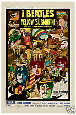 The Beatles * Yellow Submarine *  Italy Movie Promo Poster 1968   13x19