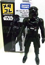 "3"" Metacolle Tomica Star Wars #20 First Order Tie Fighter Pilot Figure Diecast"
