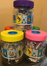 "NEW! Authentic Mexican Loteria Bingo Plastic 1"" Mini Cards 54 Count"