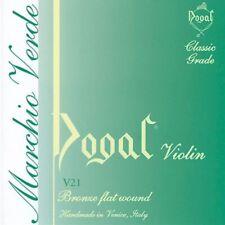 Dogal V21A Green Series Violin Strings Set - 4/4 to 3/4