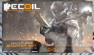 Recoil Starter Set Laser Tag Multiplayer Combat 2 Pistols Brand New