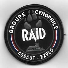 ecusson FRANCE POLICE SWAT RAID GROUPE CYNOPHILE   police patch