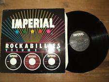 IMPERIAL ROCKABILLIES volume two (1981) LP Johnny BURNETTE - the strikes - ETC..