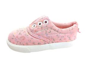 Mädchen Schuhe Größe 20/21 von H&M rosa Schuhe blauen StreifenSommerschuhe