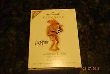 2010 Hallmark A Gift for Dobby Harry Potter Limited Quantity Keepsake ornament