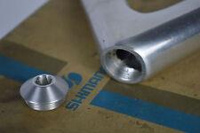 Replacment for stem Shimano Dura Ace AX 600 EX aero metal dust cap Alloy 6400