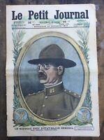 Le Petit Journal N° 1399 du 14/10/1917 - Le Général BLISS des armées Américaines
