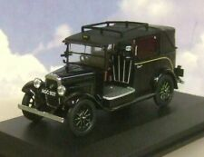 EXCELLENT OXFORD DIECAST 1/43 1930s AUSTIN LL LOW LOADER TAXI CAB IN BLACK AT001