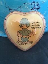 "Vintage Precious Moments Magnetic Heart ""You Have Touched So Many Hearts"""