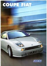 Fiat Coupe 20v 1999-2000 UK Market Sales Brochure Turbo & Plus