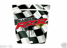 Racing WRAP VINYL QUAD HOOD POLARIS RANGER RZR 170 MINI VTT UTV FLAG 2009 - 2013