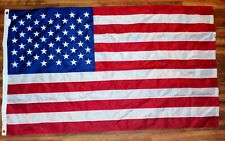 U.S.A. Flag 100% American Made 3x5 Foot Nylon Embroidered Stars