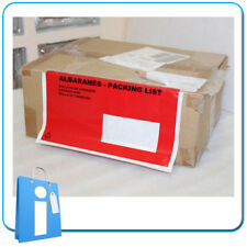 Caja con 1000 sobres Contiene Documentos Albaranes Packing List