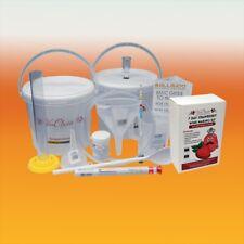 Wine Making Starter Equipment With Strawberry 6 Bottle Ingredient Kit