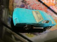 1983 Hot Wheels Camaro Exclusive Camaro Z28 teal 3 spoke ~