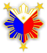 Filipino Pride Star Sun Sticker Die Cut Decal Philippines Very High Quality